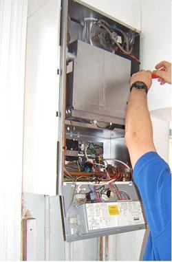 Fixing a boiler